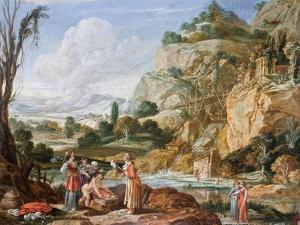 The Finding of the Infant Moses by Pharaoh's Daughter, 17th Century by Bartholomeus Breenbergh
