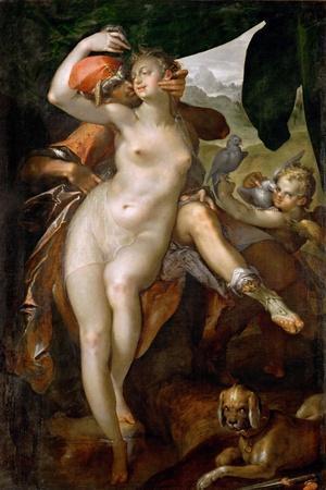 Venus and Adonis, Ca 1595-1597
