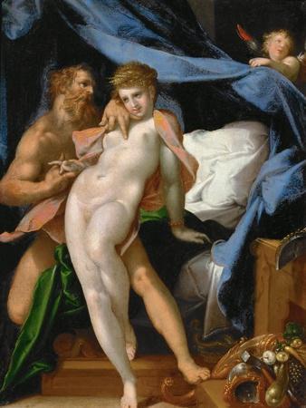 Vulcan and Maia, Ca 1585
