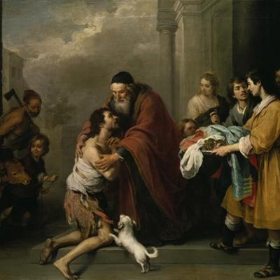 The Return of the Prodigal Son, 1667/70 by Bartolom? Est?ban Murillo