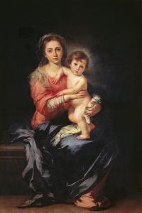 Madonna and Child by Bartolom Esteban Murillo