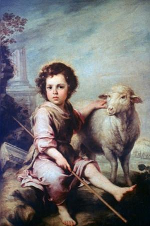 The Good Shepherd, C1650 by Bartolom? Esteban Murillo