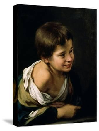 A Peasant Boy Leaning on a Sill, 1670-1680