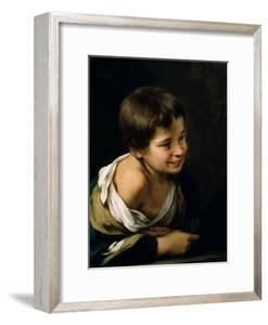 A Peasant Boy Leaning on a Sill, 1670-1680 by Bartolome Esteban Murillo