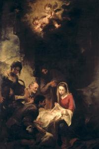 Adoration of the Shepherds by Bartolome Esteban Murillo