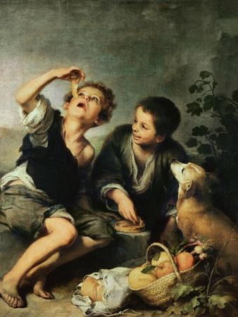 Children Eating a Pie, 1670-75