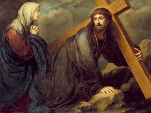 Christ at Calvary by Bartolome Esteban Murillo