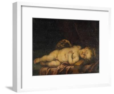 Christ Child Asleep on the Cross