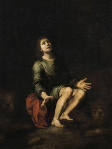 Daniel dans la fosse aux lions by Bartolome Esteban Murillo