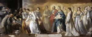 Death of St.Clare by Bartolome Esteban Murillo