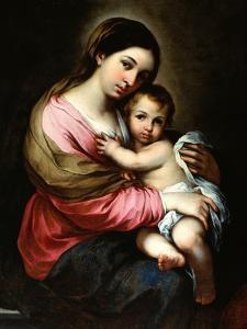 Madonna and Child by Bartolome Esteban Murillo