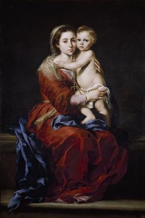 Our Lady of the Rosary, 1650-1655