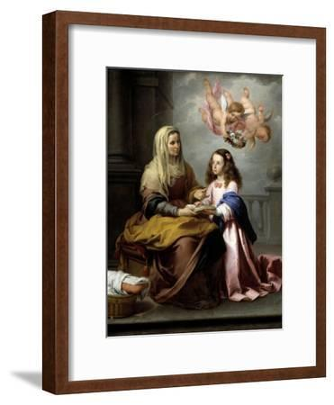 Saint Anne with the Virgin, Ca. 1655