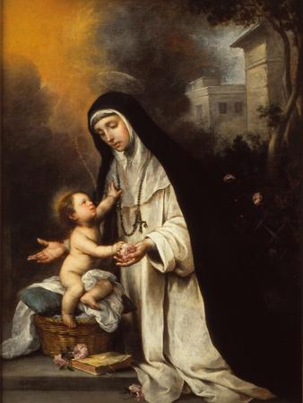Saint Rose of Lima, 1670