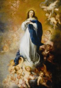 Soult Immaculate Conception by Bartolome Esteban Murillo