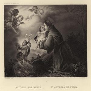 St Anthony of Padua by Bartolome Esteban Murillo