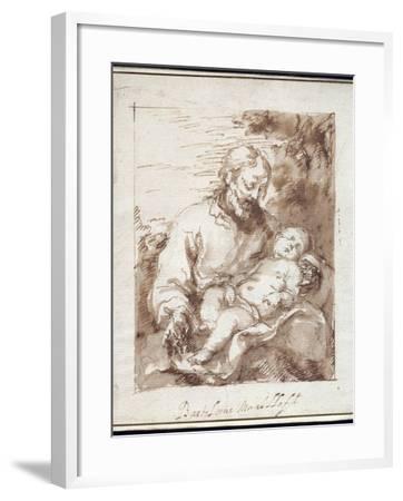 St. Joseph with the Sleeping Christ Child