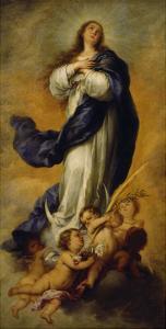 The Concepción (Immaculata) of Aranjuez, about 1656/60 by Bartolomé Estéban Murillo