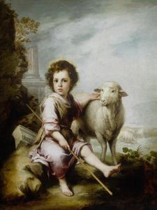 The Good Shepherd by Bartolome Esteban Murillo