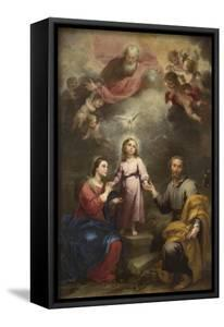 The Heavenly and Earthly Trinities (The Pedroso Murill), C. 1680 by Bartolomé Estebàn Murillo