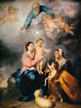 The Holy Family (The Virgin of Sevill)