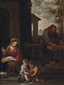 The Holy Family with the Infant St. John the Baptist, 1660-70 by Bartolome Esteban Murillo