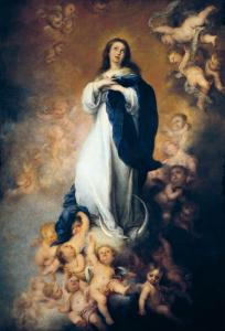 "The Immaculate Conception ""Of Soult"" by Bartolome Esteban Murillo"