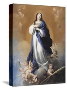 The Immaculate Conception by Bartolome Esteban Murillo