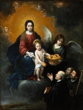 The Infant Christ Distributing Bread to the Pilgrims. 1678
