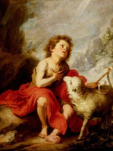 The Infant Saint John the Baptist by Bartolome Esteban Murillo