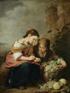 The Little Fruit-Seller, 1670-75 by Bartolome Esteban Murillo