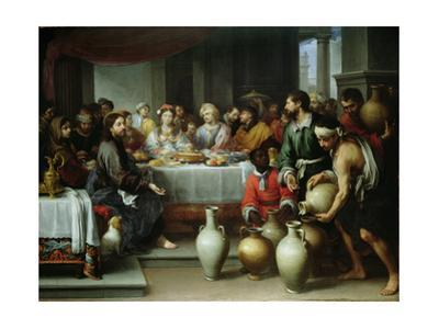 The Marriage Feast at Cana, C.1665-75 by Bartolome Esteban Murillo