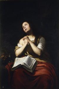 The Repentant Mary Magdalene by Bartolomé Estebàn Murillo