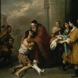 Beggar Boys Eating Grapes and Melons, 1645/46-Bartolomé Estéban Murillo-Giclee Print