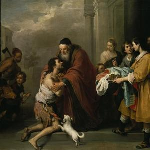 The Return of the Prodigal Son, 1667/70 by Bartolomé Estéban Murillo