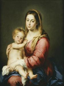 The Virgin and Child by Bartolomé Estéban Murillo