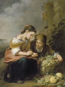 The Young Fruit Merchant, about 1670/75 by Bartolomé Estéban Murillo