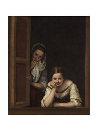 Two Women at a Window, 1655-60