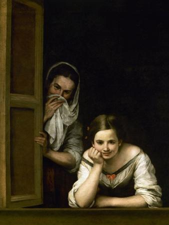 Women from Galicia at the Window, 1655-1660