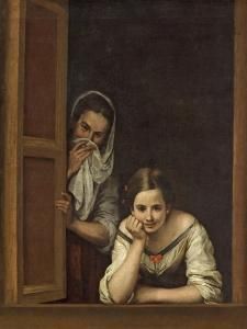 Women from Galicia at the Window, 1670 by Bartolome Esteban Murillo