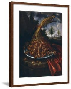 Still Life with Dates, Palatine Gallery, Florence by Bartolomeo Bimbi