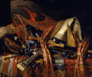 Turkish Weapons, Uffizi Gallery, Florence by Bartolomeo Bimbi
