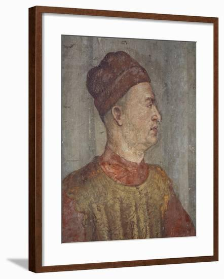 Bartolomeo Colleoni Overseeing Preparations for Feast in Honor of King Christian of Denmark--Framed Giclee Print