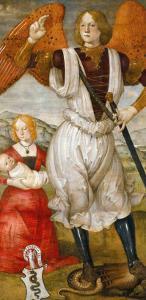 Saint Michael the Archangel by Bartolomeo Della Gatta