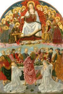 Virgin of the Assumption by Bartolomeo Della Gatta