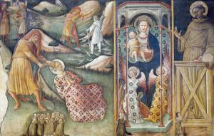 Martyrdom of Saint Barbara by Bartolomeo Di Tommaso