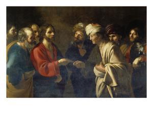 Der Zinsgroschen by Bartolomeo Manfredi