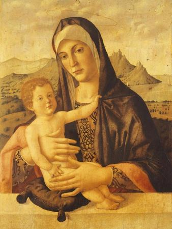Madonna and Child Seated