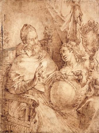 Portrait of Pope Gregory Xiii, Three-Quarter Length, Seated in an Armchair
