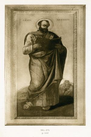 Male Saint, Perhaps St. Mark, C.1490